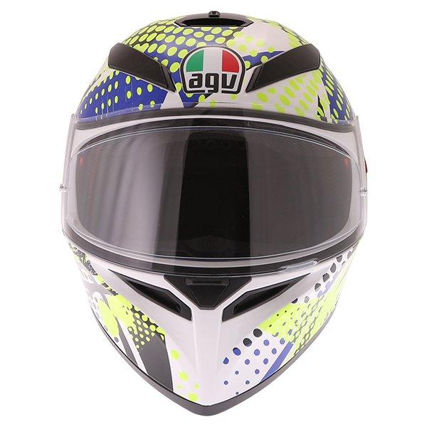 AGV K3 SV Pop Full Face Motorcycle Helmet Front
