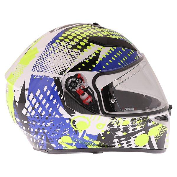 AGV K3 SV Pop Full Face Motorcycle Helmet Right Side