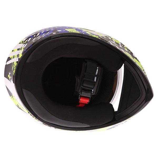 AGV K3 SV Pop Full Face Motorcycle Helmet Inside