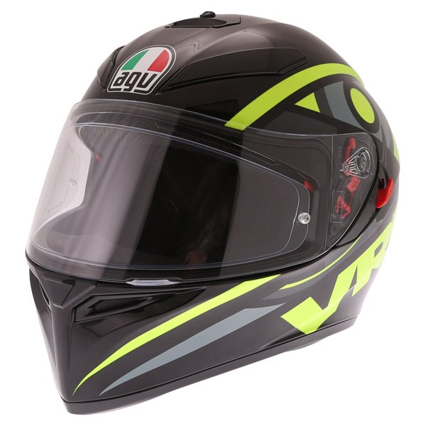 AGV K3 SV Solun 46 Full Face Motorcycle Helmet Front Left