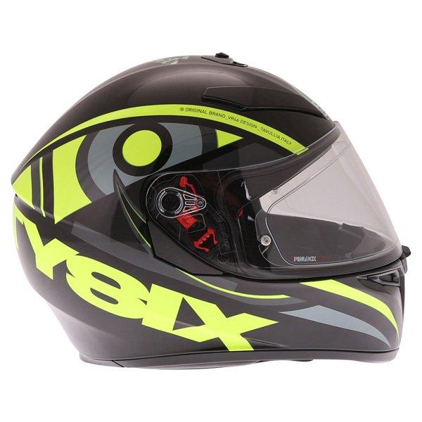 AGV K3 SV Solun 46 Full Face Motorcycle Helmet Right Side