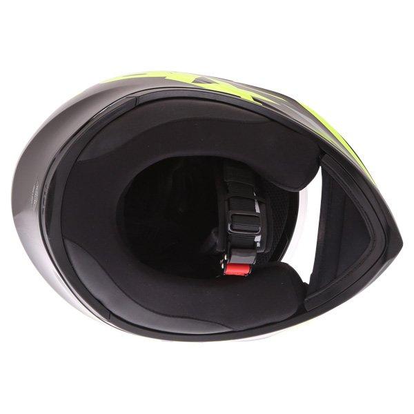 AGV K3 SV Solun 46 Full Face Motorcycle Helmet Inside