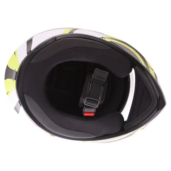 AGV K3 SV Avior Green Full Face Motorcycle Helmet Inside
