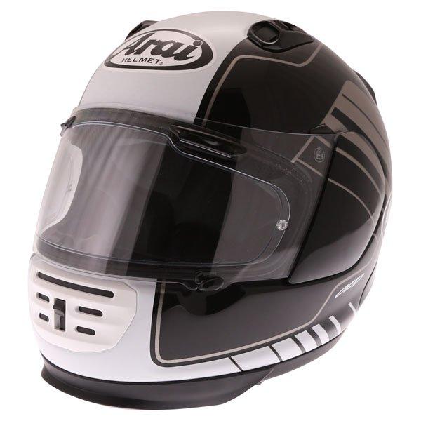 Arai Rebel Street White Full Face Motorcycle Helmet Front Left