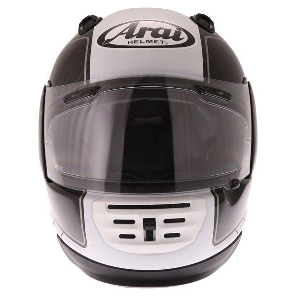 Arai Rebel Street White Full Face Motorcycle Helmet Front