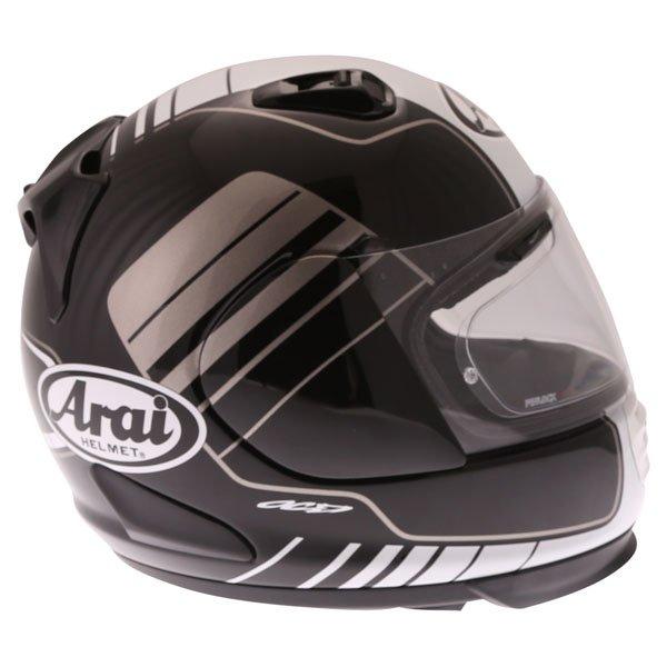 Arai Rebel Street White Full Face Motorcycle Helmet Right Side