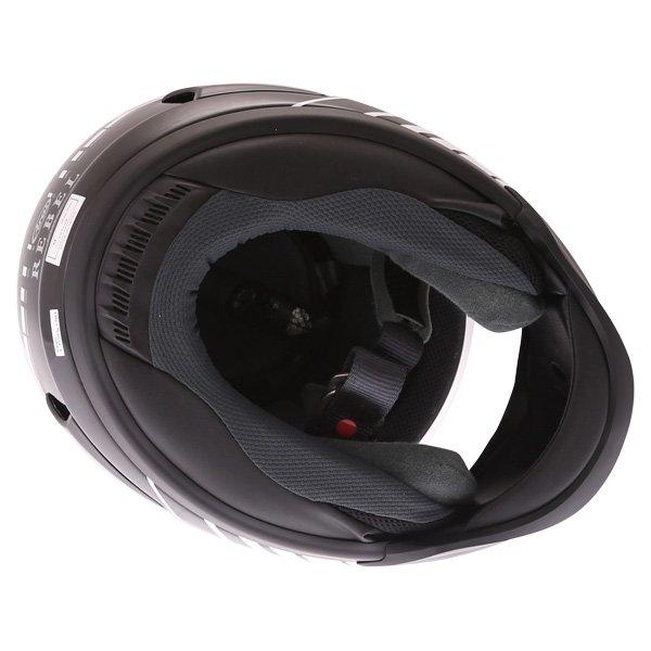 Arai Rebel Street White Full Face Motorcycle Helmet Inside