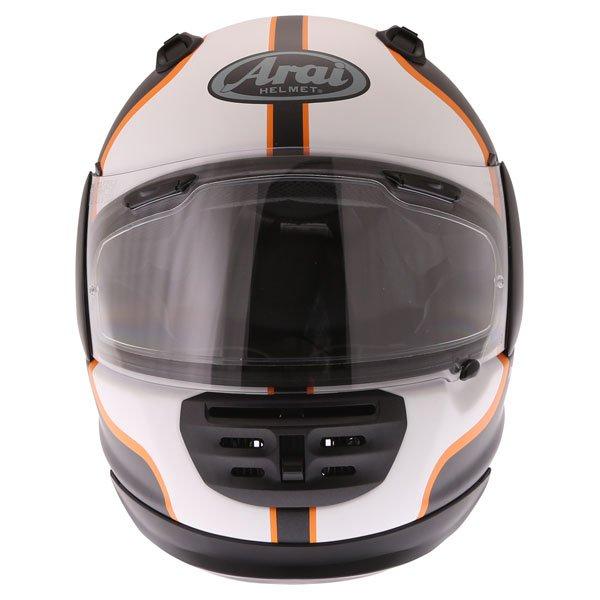 Arai Rebel Herritage White Full Face Motorcycle Helmet Front