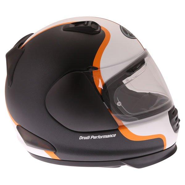 Arai Rebel Herritage White Full Face Motorcycle Helmet Right Side