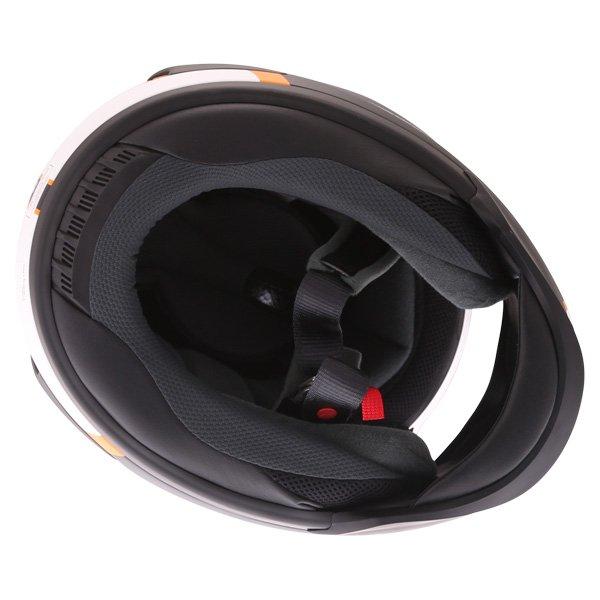 Arai Rebel Herritage White Full Face Motorcycle Helmet Inside