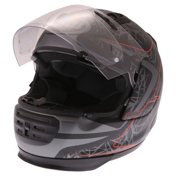 Arai Rebel Sting Multi Full Face Motorcycle Helmet Open Visor