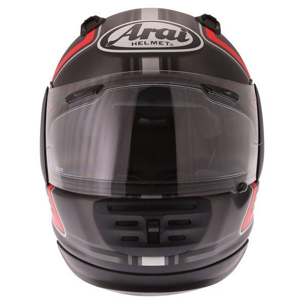 Arai Rebel Trophy Red Full Face Motorcycle Helmet Front