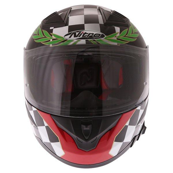 Nitro N2300 Isle of Man Full Face Motorcycle Helmet Front