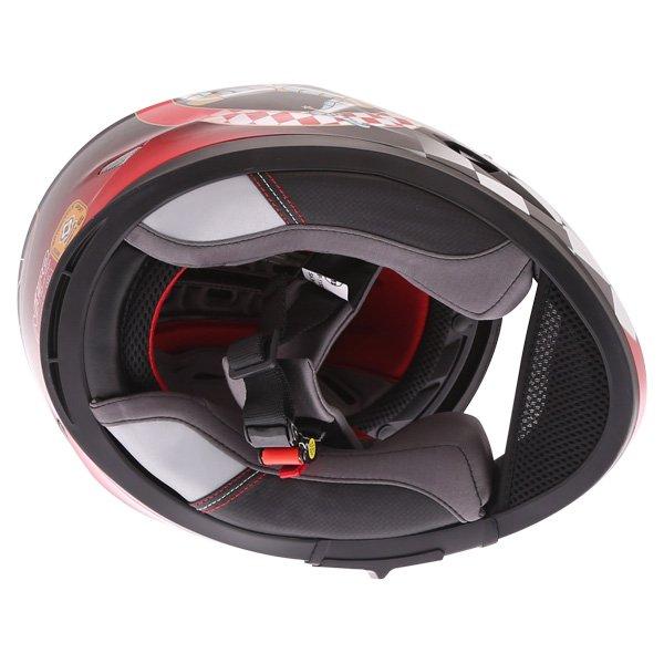 Nitro N2300 Isle of Man Full Face Motorcycle Helmet Inside