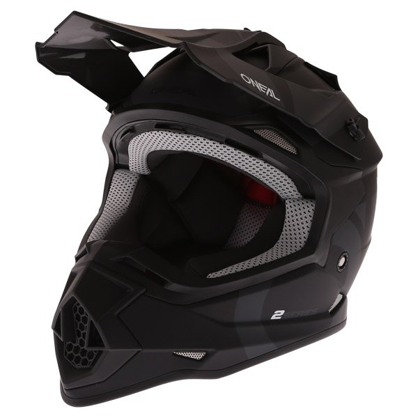2 Series RL Slick Helmet Black Grey Discount Motorcycle Gear