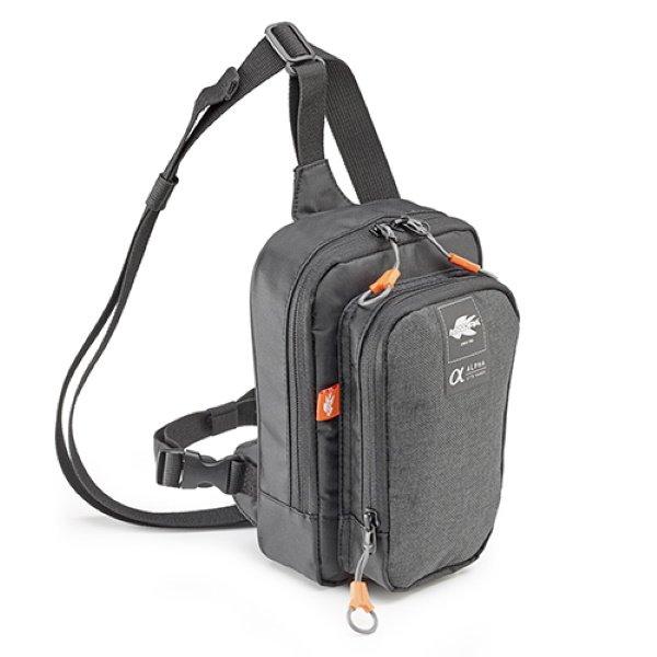 Leg Bag - 2ltr Dark Grey Leg & Bum Bags