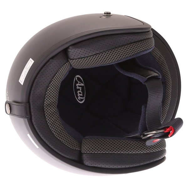 Arai Freeway Classic Frost Black Open Face Motorcycle Helmet Inside