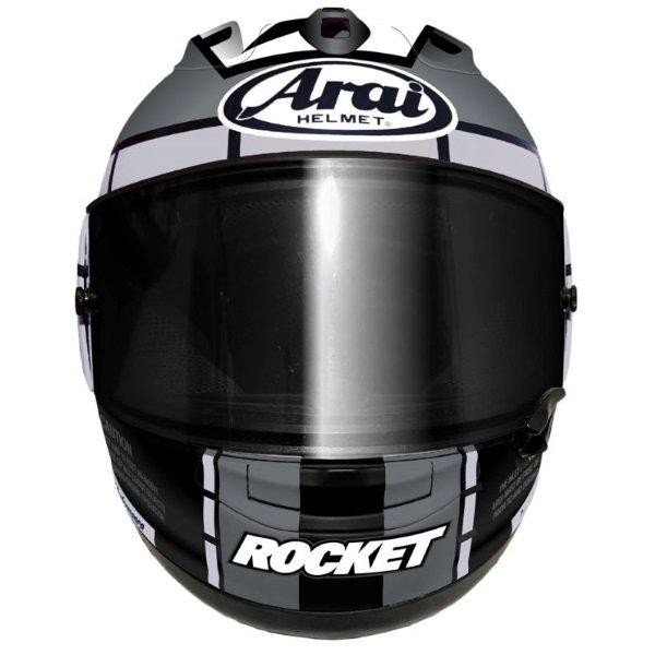 Arai RX-7V Vinales 12 Full Face Motorcycle Helmet Front