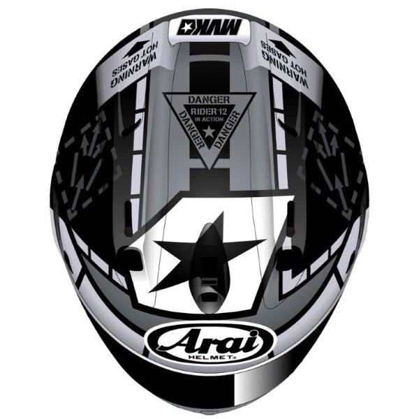 Arai RX-7V Helmet Vinales 12 Right Side