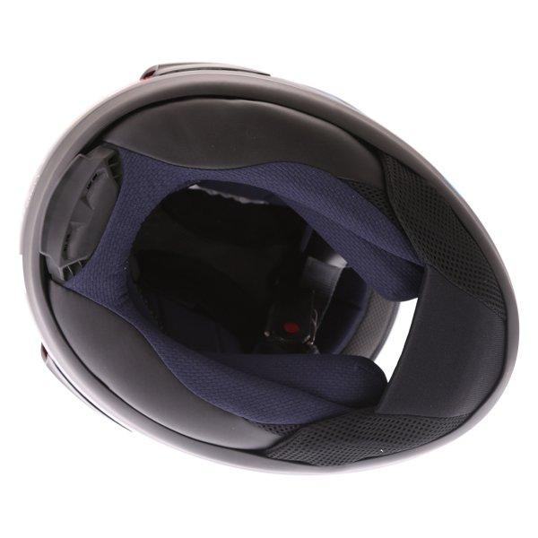Arai RX-7V Scope White Black Red Full Face Motorcycle Helmet Inside
