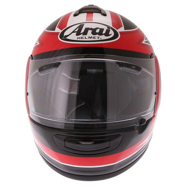 Arai Debut UK Flag Full Face Motorcycle Helmet Front
