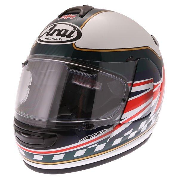 Arai Debut Union Full Face Motorcycle Helmet Front Left