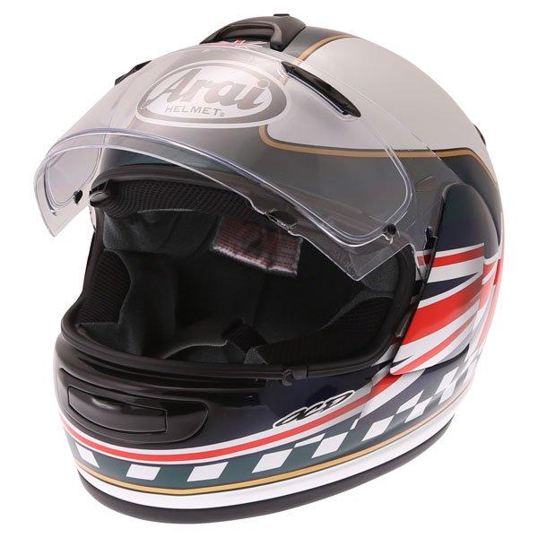 Arai Debut Union Full Face Motorcycle Helmet Open