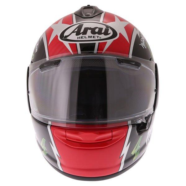 Arai Chaser X Hutchy TT Full Face Motorcycle Helmet Front