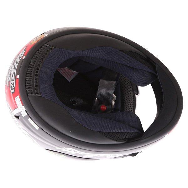 Arai Chaser X Hutchy TT Full Face Motorcycle Helmet Inside