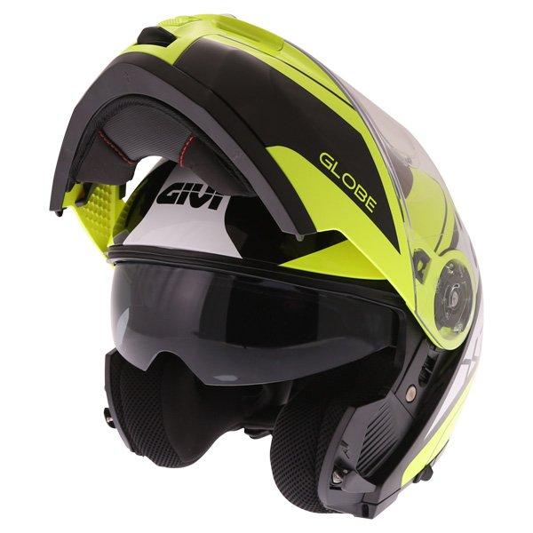 X21 Challenger Helmet Black Yellow Givi Helmets