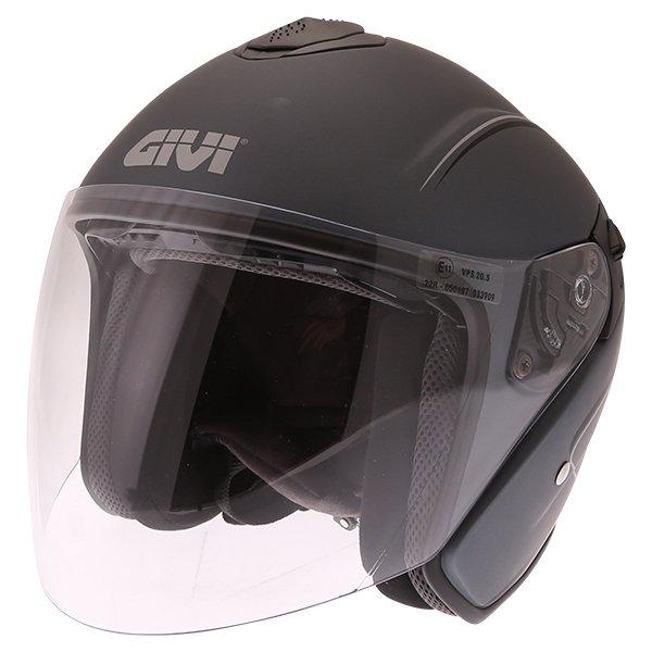 Jet 20.9 Helmet Matt Titanium Open Face Motorcycle Helmets