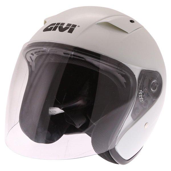 30.3 Tweet Helmet White Open Face Motorcycle Helmets