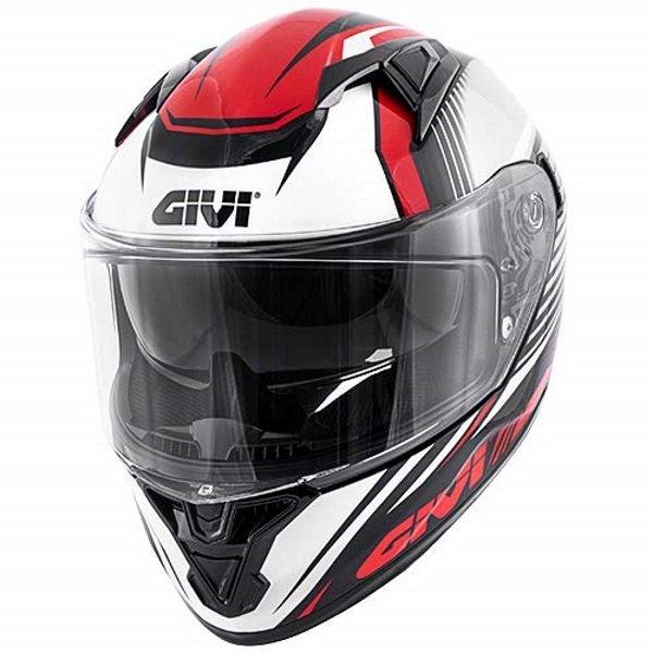 50.6 Glade Helmet Black Red Givi Helmets