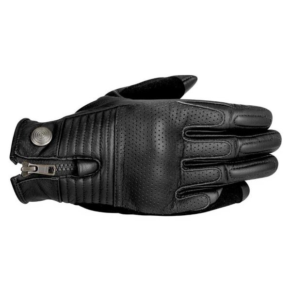 Alpinestars Rayburn Black Motorcycle Gloves Back