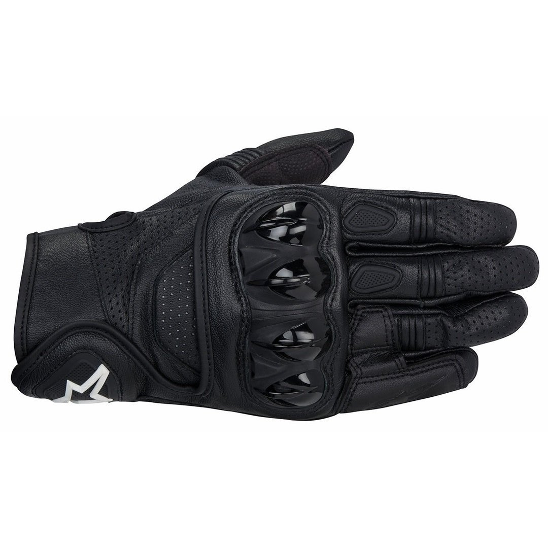 Alpinestars Celer Gore-Tex Black Motorcycle Gloves Back