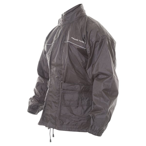 Frank Thomas BGT Black Rain Jacket Side