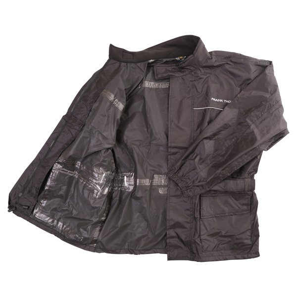 Frank Thomas BGT Black Rain Jacket Inside