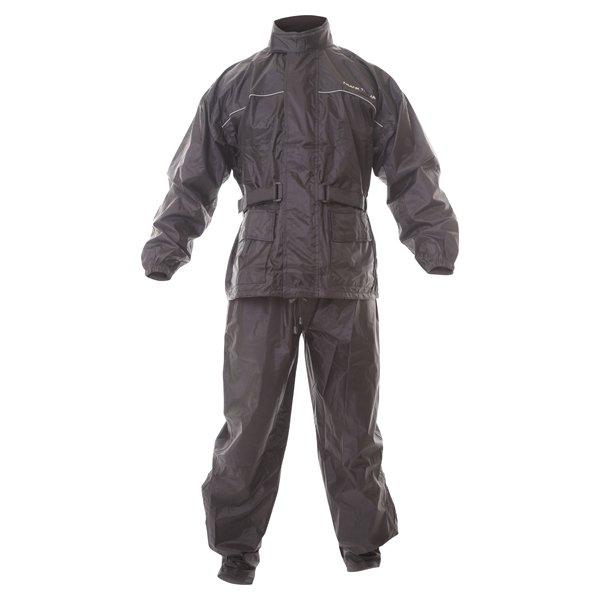 Frank Thomas BGT Black Rain Jacket and Pants