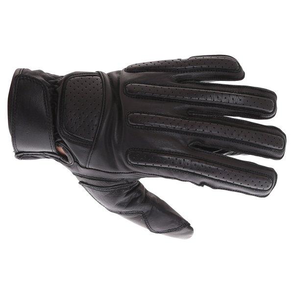 A05-18 Classic Biker Gloves Black Summer Gloves