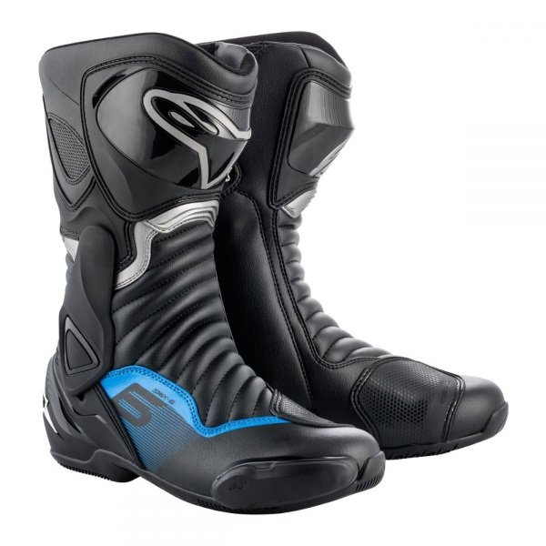 SMX-6 V2 Boots Black Gun Metal Blue