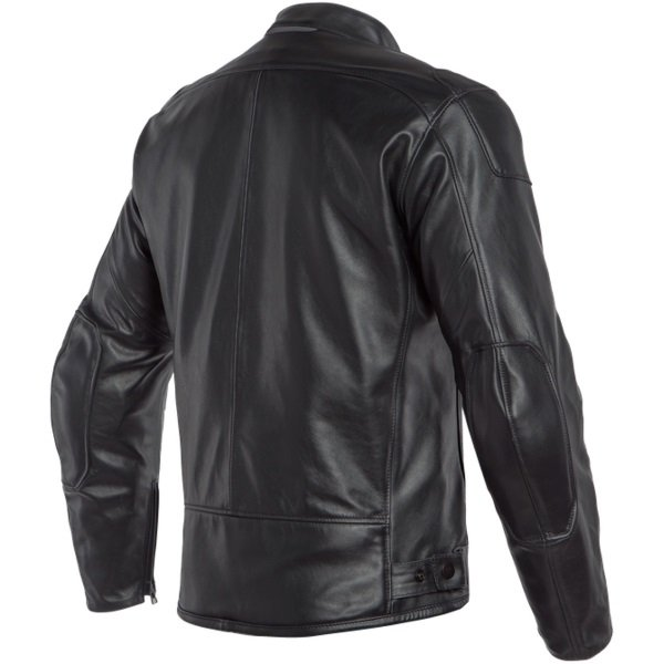 Dainese Bardo Black Leather Motorcycle Jacket Back