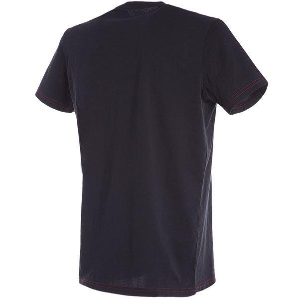 Dainese Speed Demon Black Red T-Shirt Back