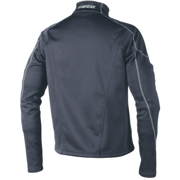 Dainese D1 Black No Wind Layer Jacket Back