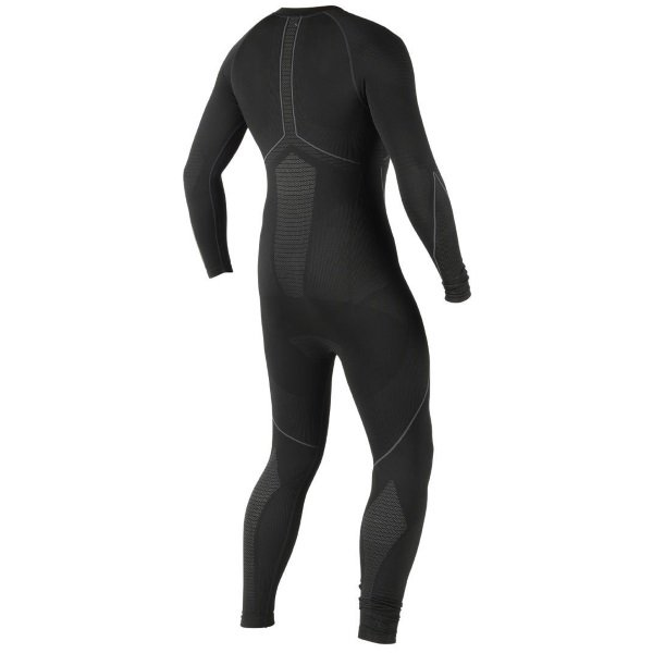 Dainese D-Core Dry Black Motorcycle Base Layer Suit Rear