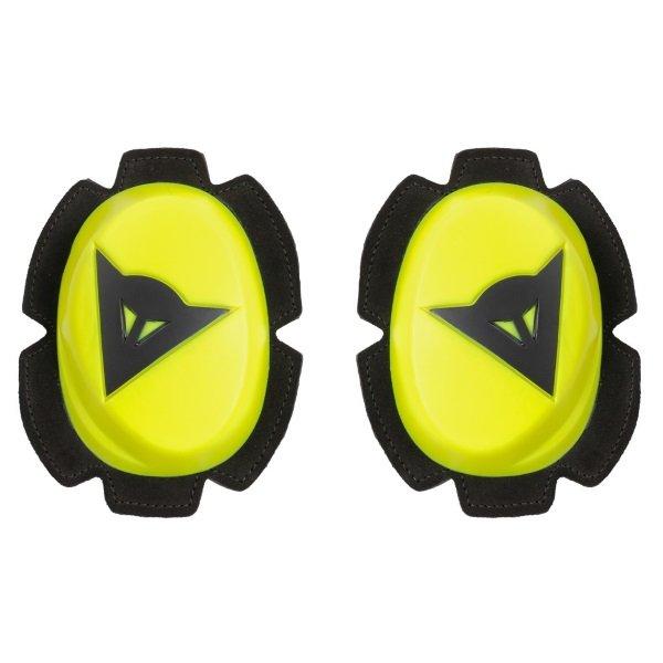 Dainese Pista Yellow Black Knee Sliders