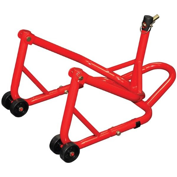 Bike It Motorcycle Front Steering Head Stand Folds For Storage