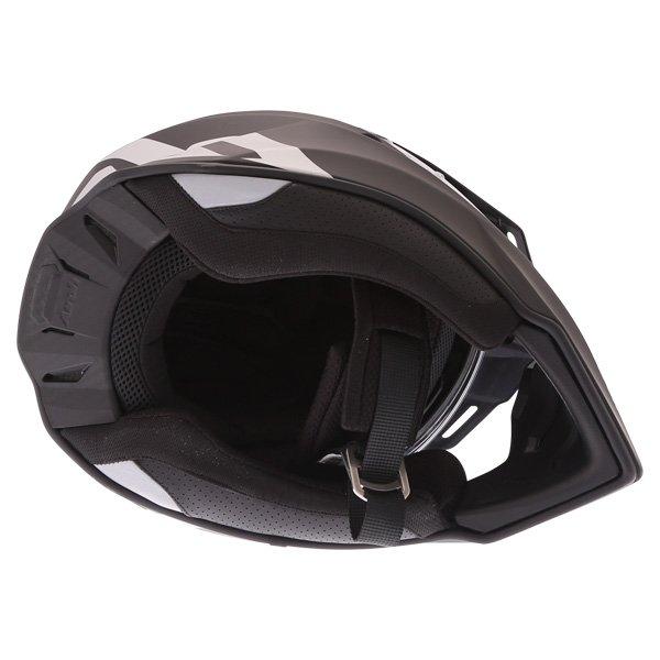 Airoh Commander Matt Black Adventure Motorcycle Helmet Inside