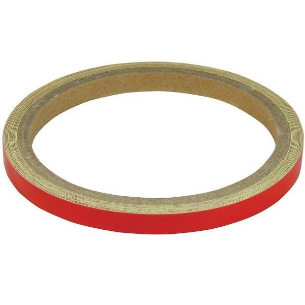 Wheel-Body Stripes 7mm Reflect Red Wheel Stripes