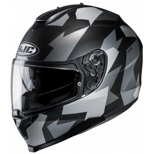 C70 Valon Helmet Black Grey