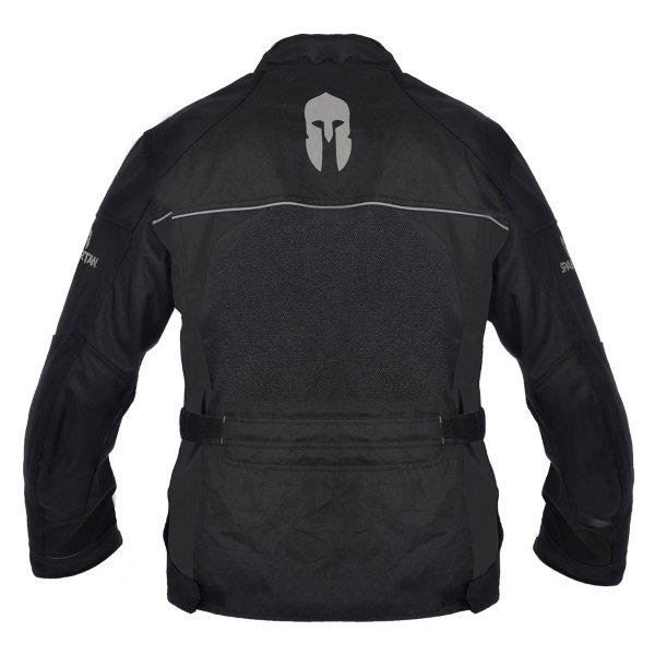 Spartan J17 Black Textile Motorcycle Jacket Back